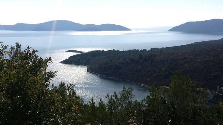 Drive from Split to Dubrovnik,Croatia