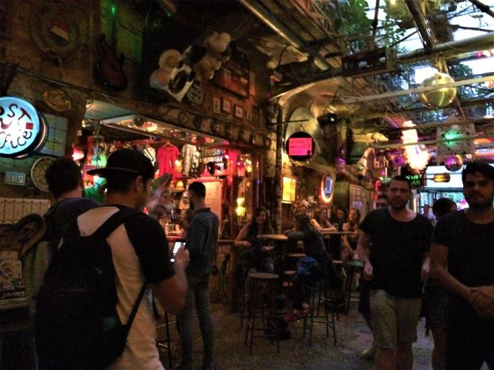 Ruin bars: The most unique experience –Budapest
